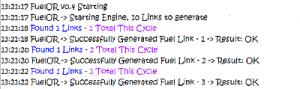 fuelor log