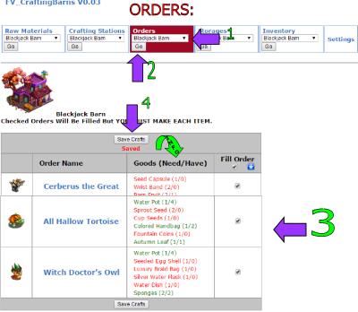 orders ful