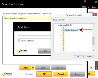 norton-exclusions-folder